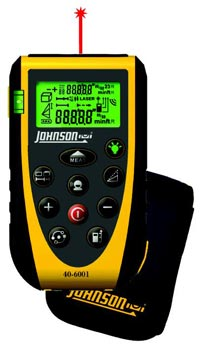 johnson 40-6001 laser distance measure