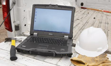 ridgid dell rugged laptops