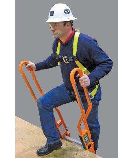 Step Through Hand Rails For Extension Ladders Tool Rank Com