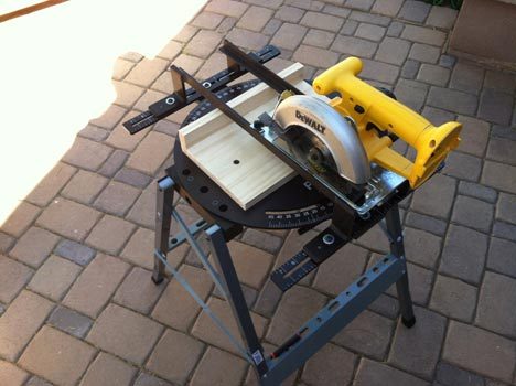 Turn Your Circular Saw Into A Miter Saw Tool