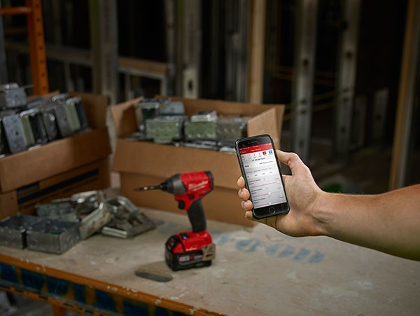 Milwaukee One-Key Tool Inventory App