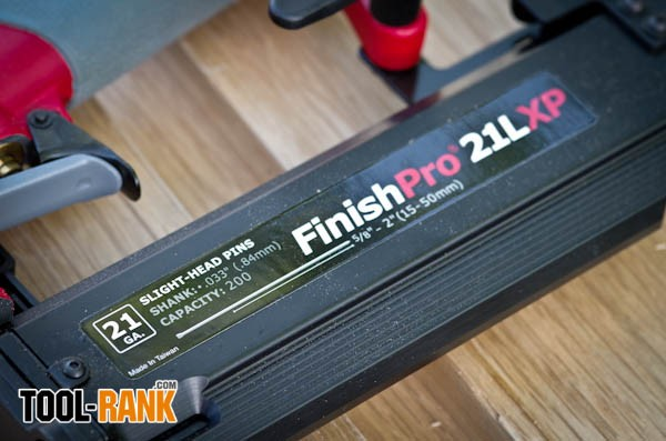 Senco Finish Pro 21 LXP Review