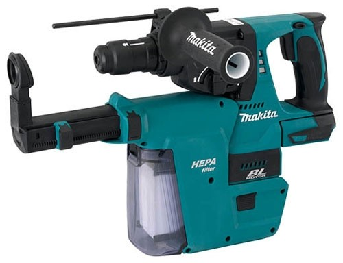 new 18v hepa and 36v cordless rotary hammers from makita. Black Bedroom Furniture Sets. Home Design Ideas