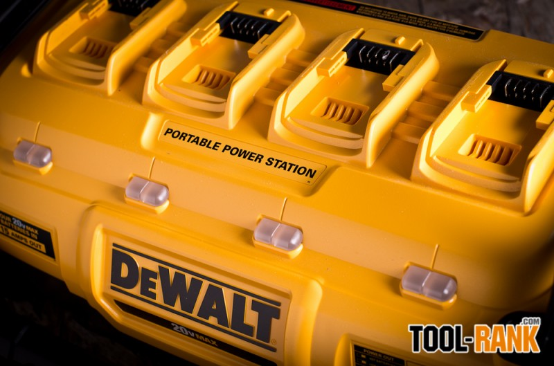 DeWalt DCB1800 Portable Power Station and Parallel Battery Charger Review