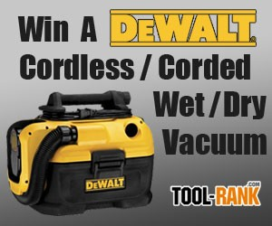 Tool Rank Giveaway Win A Dewalt Dcv581h Cordless Corded