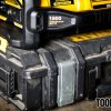 Connection to DeWalt ToughSystem toolbox with the DeWalt DCB1800 Power Station
