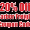 20% OFF HARBOR FREIGHT COUPON CODE