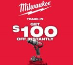 Milwaukee Trade-In Promotion