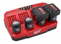 Milwaukee Four Bay Sequential Charger (48-59-1204)