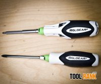 Rolgear Ratcheting Screwdriver