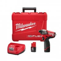 Milwaukee M12 FUEL 1/4 Hex Impact Driver Kit - 2453-22
