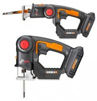 WORX Axis Transforms From Jigsaw to Reciprocating Saw