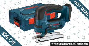 Hot Deal Bosch $25 Off $100 purchase for black Friday