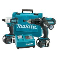 Makita LXT202 18V LXT Lithium-Ion 2-Pc. Combo Kit