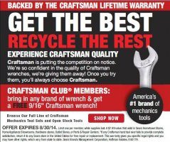 Free Craftsman Wrench Trade-In