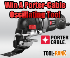 ToolRank Giveaway: Win A Porter-Cable PCE605K Oscillating Multi-Tool