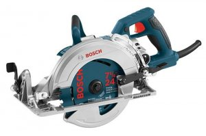 New? Lightweight Magnesium Worm Drive Saw From Bosch