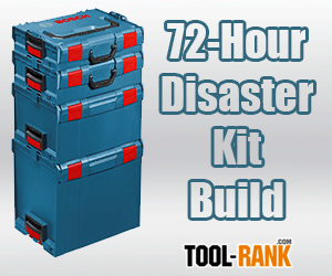 Using The Bosch Click & Go L-Boxx System To Make A 72-Hour Disaster Kit