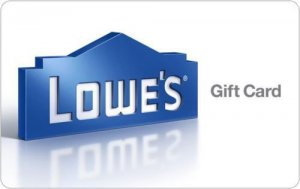 $200 Lowe's Gift Card for $175