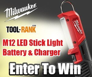 Milwaukee M12 LED Stick Light Giveaway