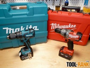 Milwaukee 2604-22 Vs Makita LXPH05 Brushless Hammer Drill Head To Head Review