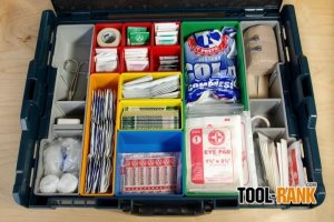 Bosch Click & Go 72-Hour Kit Build: First Aid Using The L-BOXX1A
