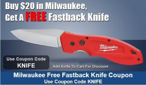 Free Milwaukee Knife
