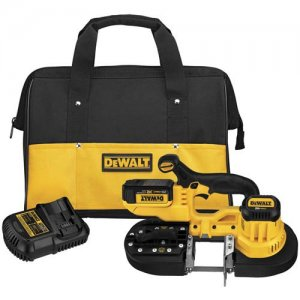 DeWalt Launches Compact 20V Max Cordless Bandsaw