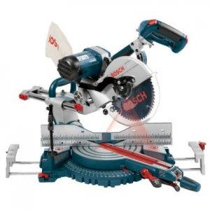 "Bosch 10"" Dual-Bevel Slide Miter Saw with Upfront Controls & Laser Tracking 4410L"