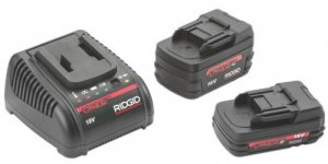 Ridgid 2ah and 4Ah batteries