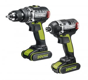 Rockwell 20V Brushless Drill-Driver and Impact Driver Combo RK1807K2