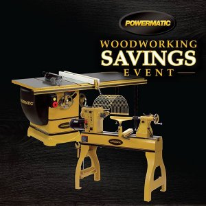 15% OFF POWERMATIC WOODWORKING MACHINES AND ACCESSORIES