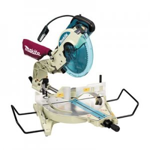 "Makita LS1214FL 12"" Dual Slide Compound Miter Saw with Laser and Fluorescent Light"