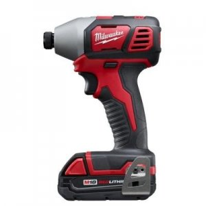 Milwaukee 2656-21 M18 1/4 in. Cordless Hex Impact Driver Kit with 1 Battery