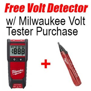 free Milwaukee voltage detector