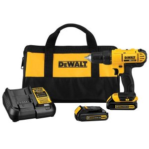 DeWalt DCD771C2 20V Max 1/2-in Cordless Drill with Soft Case