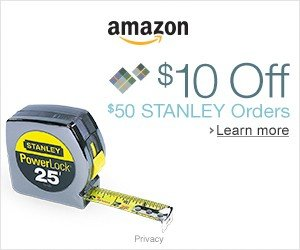 $10 OFF SELECT $50 STANLEY ORDERS @ AMAZON