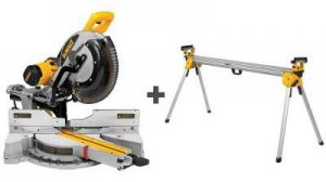 Free Saw Stand (DWX723) with DEWALT Miter Saw (DWS780) Purchase