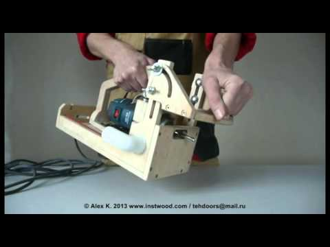 Carpenter Makes A Diy Domino Like Mortiser Tool Rank Com