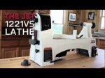 JET 1221VS Woodworking Lathe Highlights