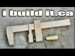 Making A Wooden Bar Clamp