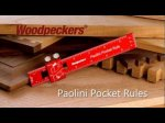Woodpeckers new Paolini Pocket Rules.