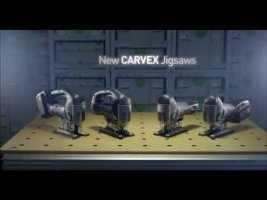 The new Festool Carvex 420 Jigsaw - the best jigsaw technology available