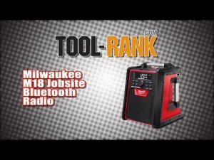 Milwaukee 2792-20 18-volt Jobsite Radio & Charger - Christmas Lights