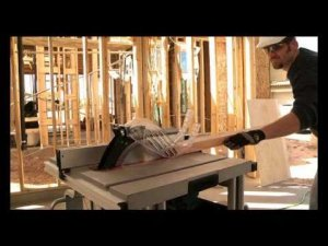 Bosch Power Tools - GTS1031 Portable Table Saw Video