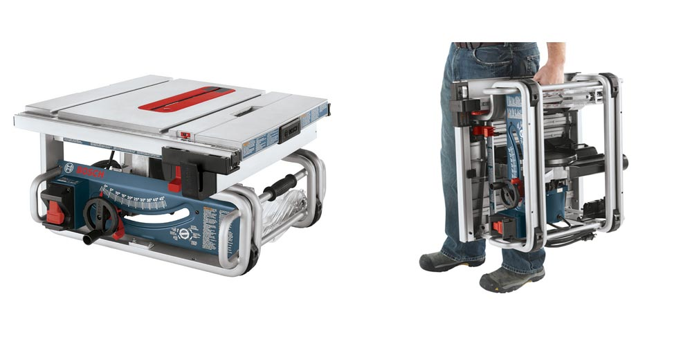 New GTS1031 Compact Table Saw From Bosch - Tool-Rank com