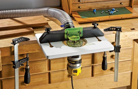 Rockler trimRouter Table