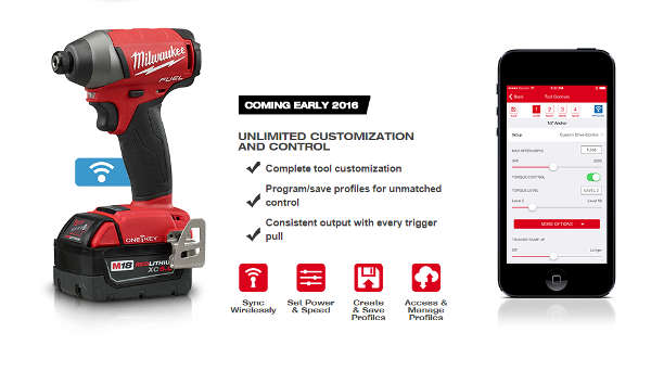 Milwaukee One Key Tool Control