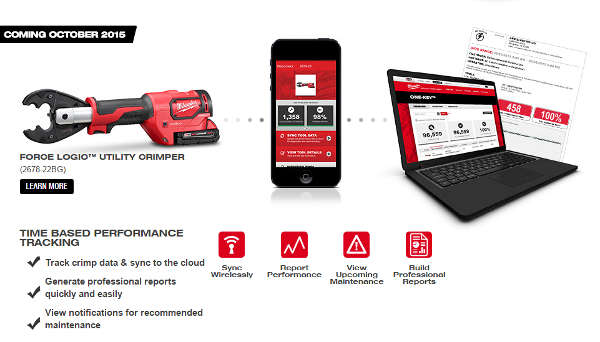 Milwaukee One Key Tool Reporting