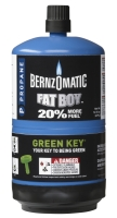 BernzOmatic introduces recyclable fuel cylinder